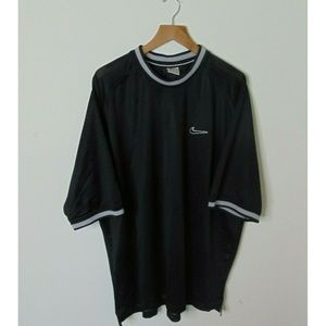 Vintage 90s Nike XL Jersey Shirt Athletic Black S